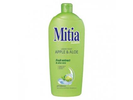 Mitia tekuté mydlo 1l náhr.náplň Jablko&Aloe