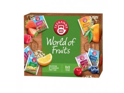 Kolekcia čajov TEEKANNE World of Fruits 68,75g