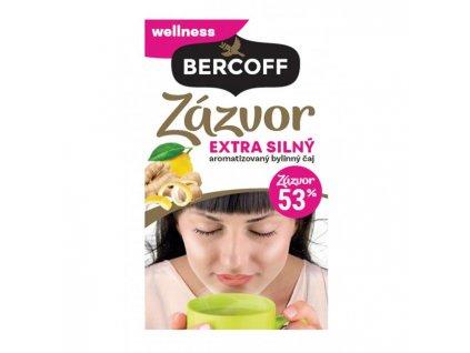 Čaj Bercoff zázvorový extra silný 40g
