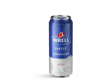 Pivo Birell svetlé nealko 0,5l 24ks plech