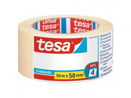 Maskovacia krepová páska TESA standart 50mmx50m