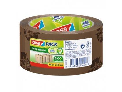 Baliaca páska TESA Eco Strong 50 mm x 66 m hnedá