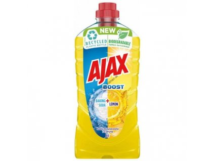 Ajax na podlahy Boost Baking 1l Soda & Lemon (žltý)