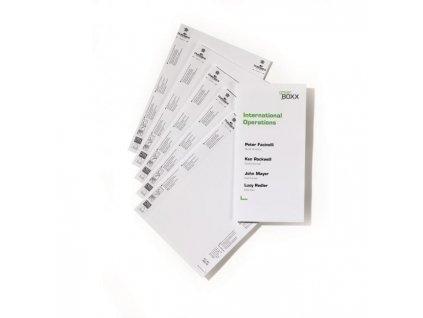 Náhradné kartičky pre Click Sign,Info Sign - 149x297 mm