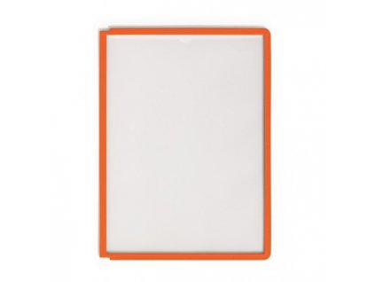 Katalógový panel SHERPA A4 oranžový