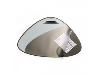 Podložka na stôl VEGAS 69x51cm čierna/sivá