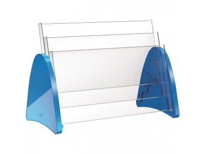 Prezentačný stojan Helit Parabel A3 modrý