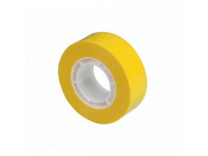 Lep. páska APLI žltá 19mm x 33m
