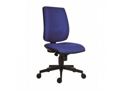 Kancelárska stolička Flute/Rahat SYN  D4 modrá