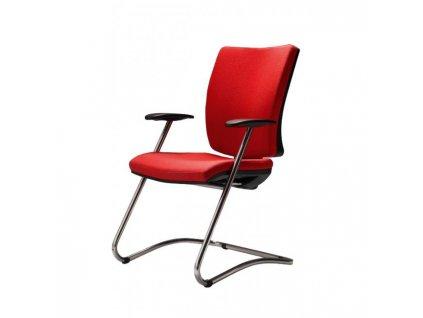Konferenčná stolička Gala ( Dora červená )