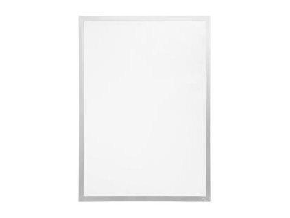 Samolepiaci Duraframe Poster 70x100 cm, strieborný