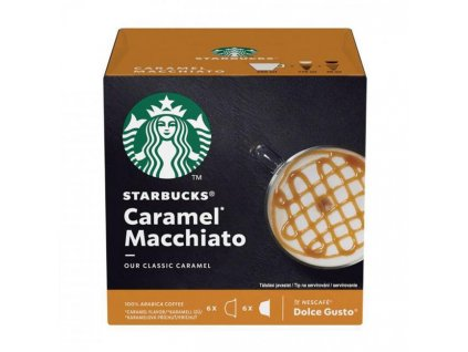 Kapsule Starbucks Caramel macchiato 12ks