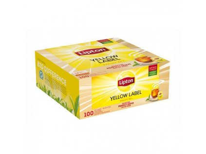 Čaj Lipton čierny Yellow Label 100x1,5g