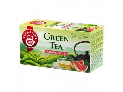 Čaj TEEKANNE zelený  Grapefruit 20x1,75 g