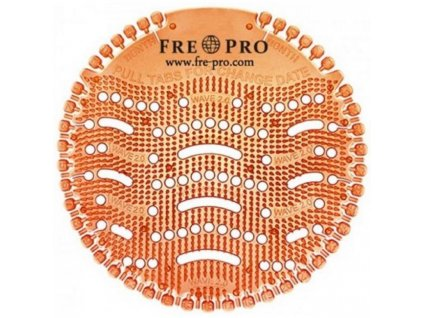 Pisoárové sitko Fre-Pro Wave 2.0 mango (oranžové) 1KS
