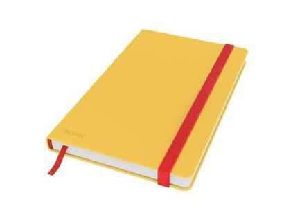 Zápisník linajkový A5 Leitz Cosy teplá žltá