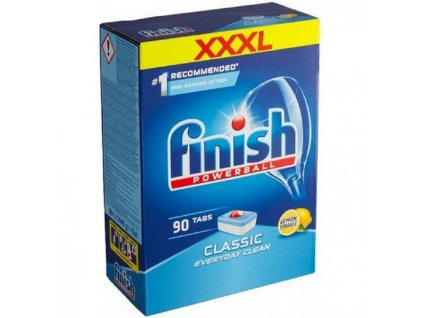 Finish tablety do umývačky riadu Classic (90ks) Lemon