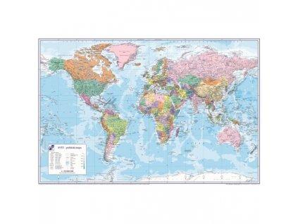 Podložka na stôl KARTON PP s mapou sveta 40x60cm
