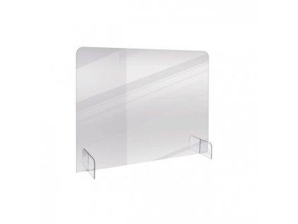 Stolný predeľovač BASIC 70x85cm transparentný