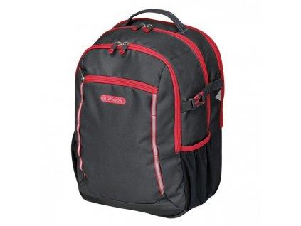 Školský batoh Herlitz Ultimate Čierna/červená