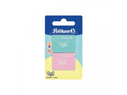 Guma bez PVC Pelikan Pastel 2 ks