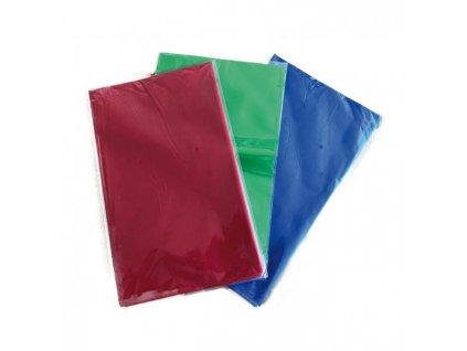 Obrus PVC na školskú lavicu 120 x 65 cm mix farieb 5 ks