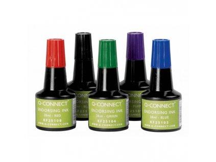 Pečiatková farba Q-Connect fialová 28ml