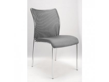 Konferenčná stolička Vanity Plus, sivá