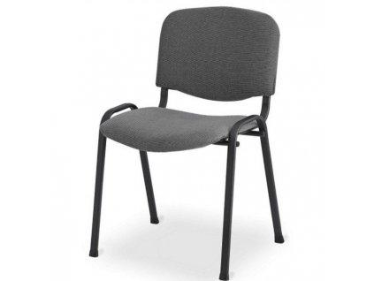 Rokovacia stolička Taurus TN sivá C13 -  kostra čierna