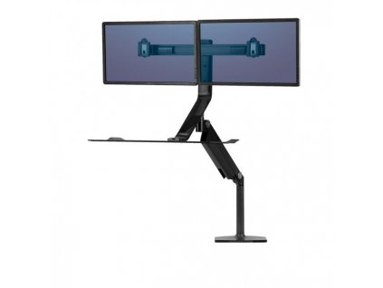 Polohovateľný stojan Sit-Stand Extend pre 2 monitory