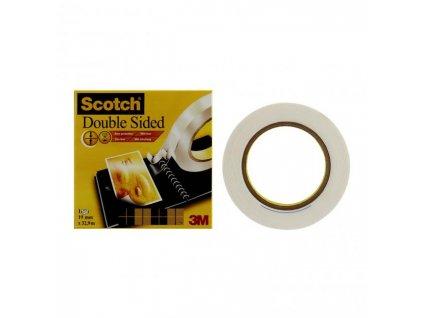 Lepiaca páska obojstranná Scotch 666 19mm x 33m v krabičke