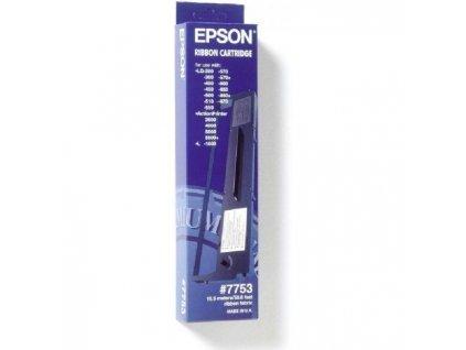 Páska Epson 7753 pre LQ350/LQ300/LQ400/LQ570/LQ580/LQ800/LQ850/LQ870 black