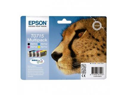Atramentová náplň Epson T07154010 CMYK multipack pre D78/DX4000/4050/5000/5050/6000