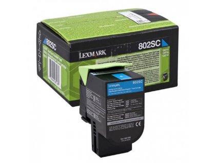Toner Lexmark 802SC pre CX310/CX410/CX510 cyan (2.000 str.)