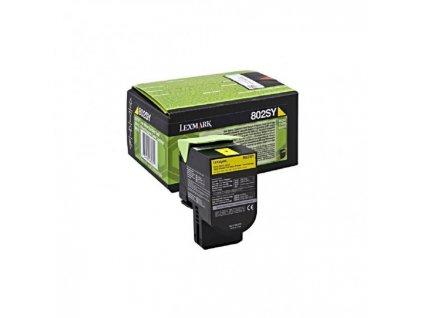 Toner Lexmark 802SY pre CX310/CX410/CX510 yellow (2.000 str.)