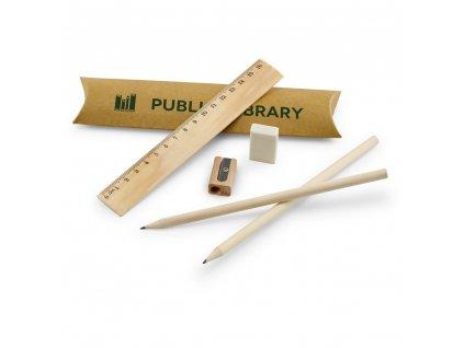 RHOMBUS. Set školských písacích potrieb
