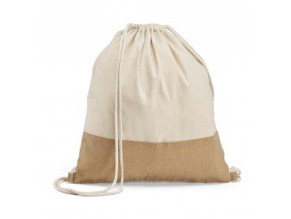 SABLON. 100% bavlnený sťahovací batoh