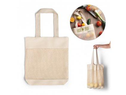 MUMBAI. 100% bavlnená taška