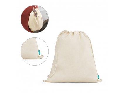 NAMPULA. Prírodná bavlnená taška