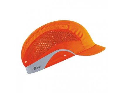 Čiapka bezpečnostná JSP HARDCAP AEROLITE 2,5 cm HV oranžová