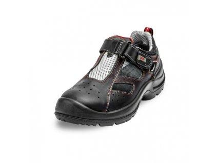 Sandále bezpečnostné JOTTA S1 SRC, čierne, veľ. 46