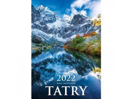 Nástenný kalendár Tatry 2022