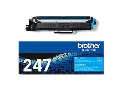 Toner Brother TN-247 pre HL-L3210CW/L3270CDW, DCP-L3510CDW/L3550CDW cyan (2.300 str.)