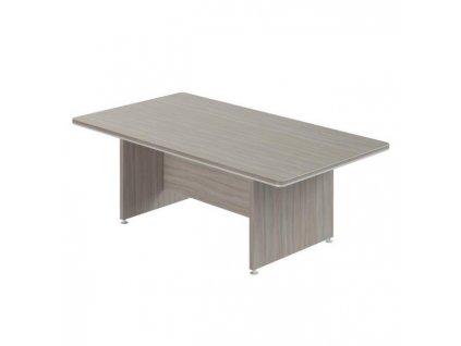 Stôl rokovací Lenza Wels, 220x76,2x120cm, driftwood