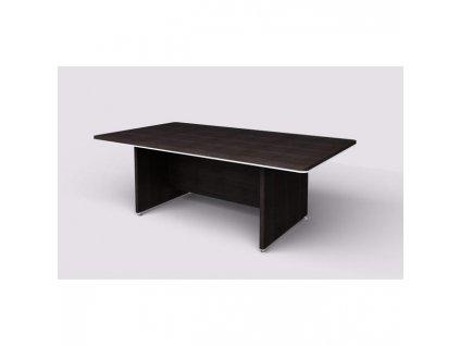 Stôl rokovací Lenza Wels, 220x76,2x120cm, wenge