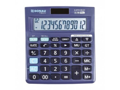 Kalkulačka Donau Tech K-DT4128 čierna