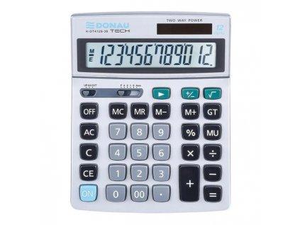 Kalkulačka Donau Tech K-DT4129 strieborná