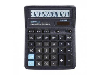 Kalkulačka Donau Tech K-DT4141 čierna