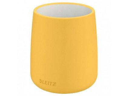 Stojan na perá Leitz Cosy teplá žltá