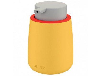 Dávkovacia fľaša s pumpičkou Leitz Cosy teplá žltá